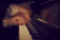 Stefano Greco playing piano